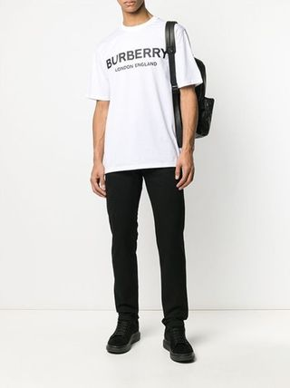 Burberry More T-Shirts Street Style Cotton Luxury T-Shirts 2