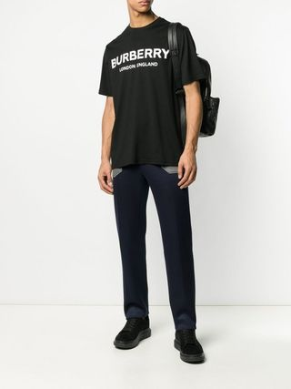 Burberry More T-Shirts Street Style Cotton Luxury T-Shirts 3
