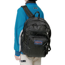 jansport Casual Style Unisex Street Style A4 Plain Logo Backpacks