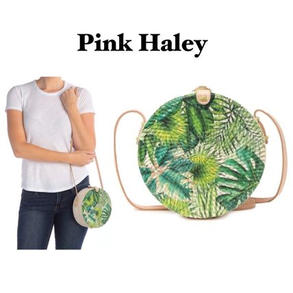 Tropical Patterns Casual Style Elegant Style Crossbody