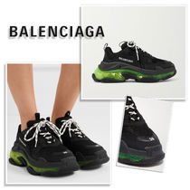 BALENCIAGA Triple S Casual Style Street Style Logo Low-Top Sneakers