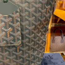GOYARD Casual Style Unisex A4 Office Style Logo Totes