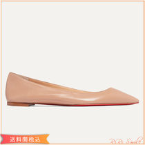 Christian Louboutin Plain Leather Pointed Toe Shoes