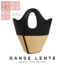 DANSE LENTE Casual Style 2WAY Leather Crossbody Totes