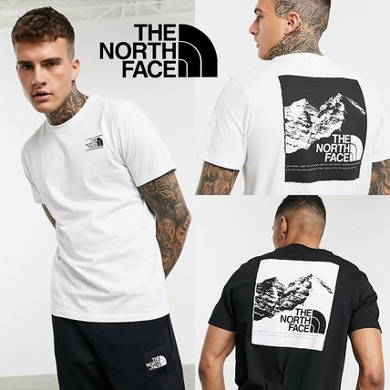THE NORTH FACE More T-Shirts Unisex Street Style Short Sleeves Logo T-Shirts