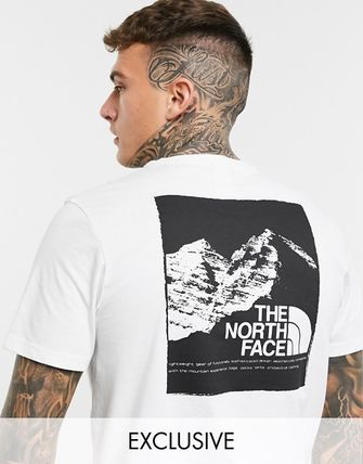 THE NORTH FACE More T-Shirts Unisex Street Style Short Sleeves Logo T-Shirts 2