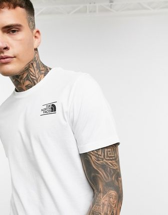 THE NORTH FACE More T-Shirts Unisex Street Style Short Sleeves Logo T-Shirts 4