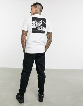 THE NORTH FACE More T-Shirts Unisex Street Style Short Sleeves Logo T-Shirts 5