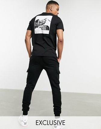 THE NORTH FACE More T-Shirts Unisex Street Style Short Sleeves Logo T-Shirts 7