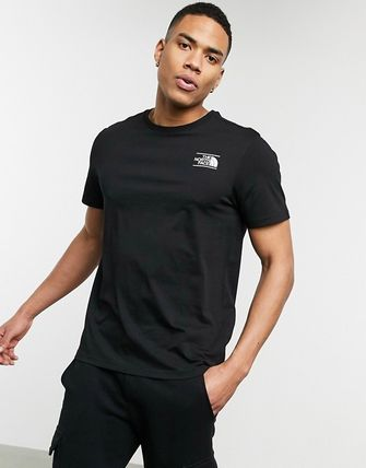 THE NORTH FACE More T-Shirts Unisex Street Style Short Sleeves Logo T-Shirts 8