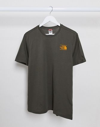 THE NORTH FACE More T-Shirts Unisex Street Style Short Sleeves Logo T-Shirts 17
