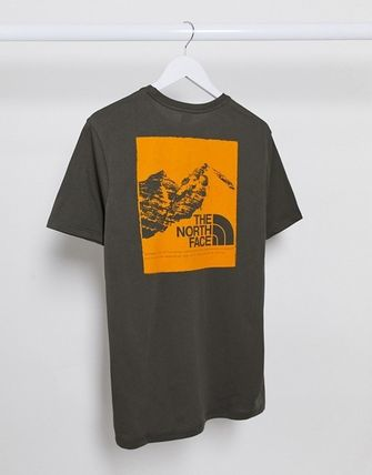 THE NORTH FACE More T-Shirts Unisex Street Style Short Sleeves Logo T-Shirts 18