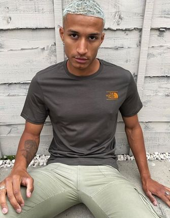 THE NORTH FACE More T-Shirts Unisex Street Style Short Sleeves Logo T-Shirts 19