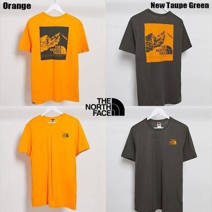 THE NORTH FACE More T-Shirts Unisex Street Style Short Sleeves Logo T-Shirts 10