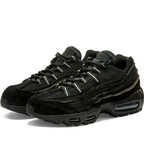 COMME des GARCONS Rubber Sole Lace-up Casual Style Street Style Leather