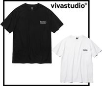 vivastudio Unisex Street Style Short Sleeves T-Shirts