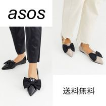 ASOS Platform Casual Style Enamel Plain Party Style Formal Style