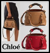Chloe Casual Style Plain Leather Party Style Office Style