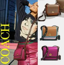 Coach Casual Style Plain Leather Party Style Office Style