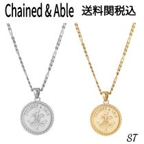Chained & Able Unisex Street Style Chain Silver Necklaces & Chokers