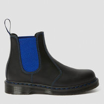 Dr Martens 2976 Plain Toe Casual Style Unisex Street Style Plain Leather