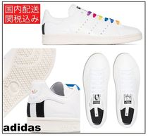 adidas by Stella McCartney Round Toe Rubber Sole Lace-up Casual Style Street Style