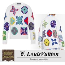 Louis Vuitton Multicolor Monogram Crewneck