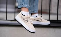 Nike AIR FORCE 1 Casual Style Blended Fabrics Street Style Low-Top Sneakers