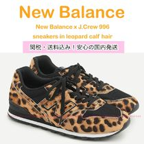 New Balance Leopard Patterns Collaboration Low-Top Sneakers