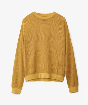 STUSSY Sweaters Street Style Long Sleeves Plain Logo Skater Style Sweaters 2