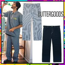 Butter Goods Slax Pants Stripes Unisex Nylon Street Style Collaboration