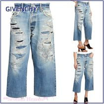 GIVENCHY Cotton Wide & Flared Jeans
