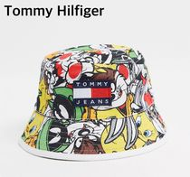 Tommy Hilfiger Unisex Street Style Wide-brimmed Hats