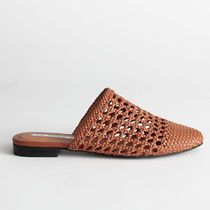 & Other Stories Plain Toe Casual Style Plain Leather Party Style