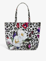 TED BAKER Flower Patterns Leopard Patterns Casual Style
