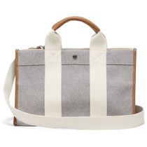 RUE DE VERNEUIL Casual Style 2WAY Plain Elegant Style Totes