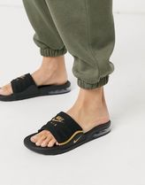Nike AIR MAX Unisex Street Style Logo Sandals