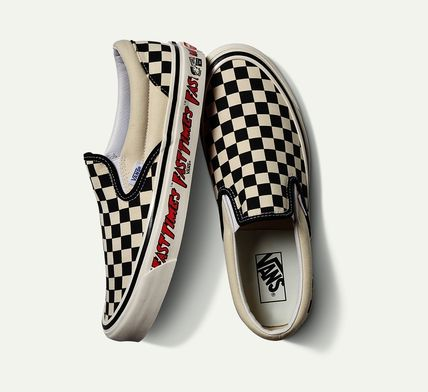 """VANS SLIP ON ANAHEIM FACTORY CLASSIC SLIP-ON 98DX""""Fast Times"""" VN0A3JEXWVP"""