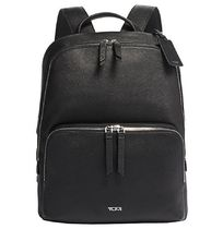 TUMI Casual Style A4 Plain Leather Office Style Elegant Style