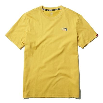 THE NORTH FACE More T-Shirts U-Neck Short Sleeves Logo T-Shirts 2