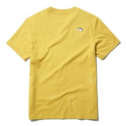 THE NORTH FACE More T-Shirts U-Neck Short Sleeves Logo T-Shirts 3