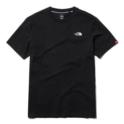 THE NORTH FACE More T-Shirts U-Neck Short Sleeves Logo T-Shirts 5