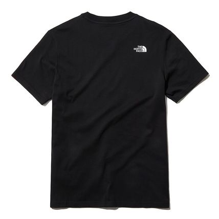 THE NORTH FACE More T-Shirts U-Neck Short Sleeves Logo T-Shirts 6