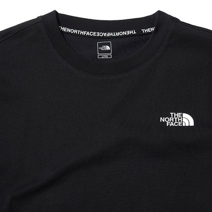 THE NORTH FACE More T-Shirts U-Neck Short Sleeves Logo T-Shirts 7