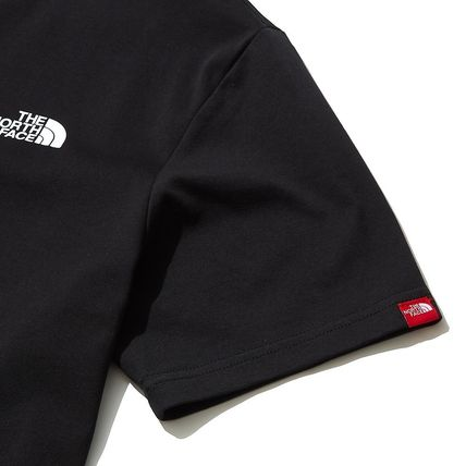 THE NORTH FACE More T-Shirts U-Neck Short Sleeves Logo T-Shirts 8