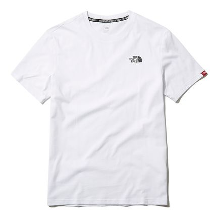 THE NORTH FACE More T-Shirts U-Neck Short Sleeves Logo T-Shirts 9