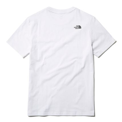 THE NORTH FACE More T-Shirts U-Neck Short Sleeves Logo T-Shirts 10