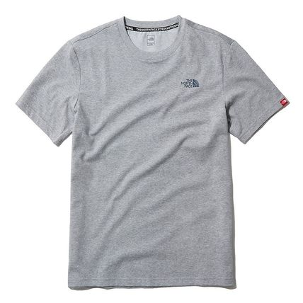 THE NORTH FACE More T-Shirts U-Neck Short Sleeves Logo T-Shirts 12