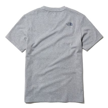 THE NORTH FACE More T-Shirts U-Neck Short Sleeves Logo T-Shirts 13
