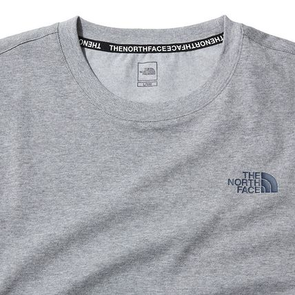 THE NORTH FACE More T-Shirts U-Neck Short Sleeves Logo T-Shirts 14